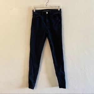 American Eagle Outfitters Black Hi Rise Jeggings